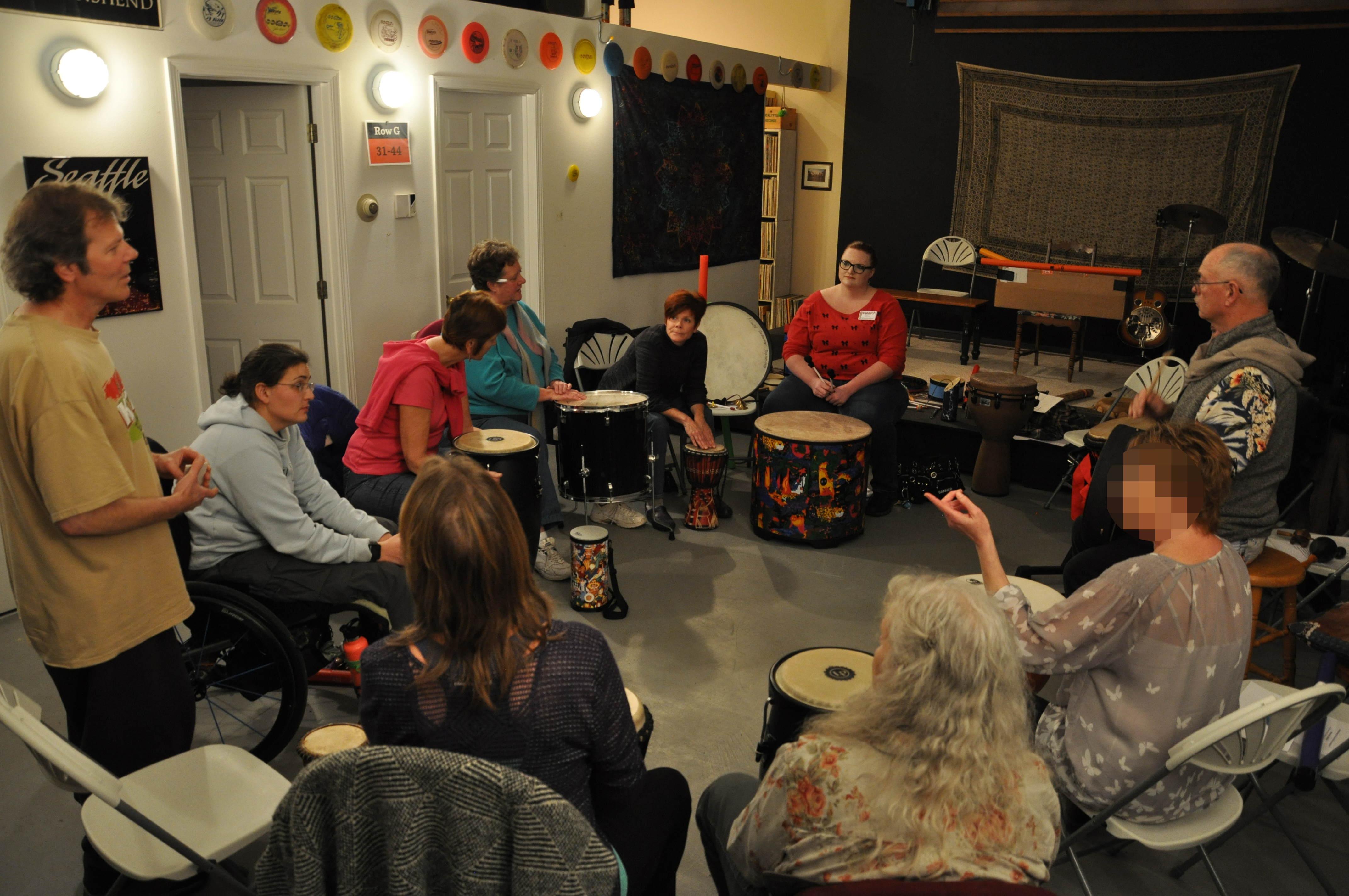 Spokane Drum Circle Facilitation Workshop - November 4th, 2017. 1-3 pm, Spokane, WA.