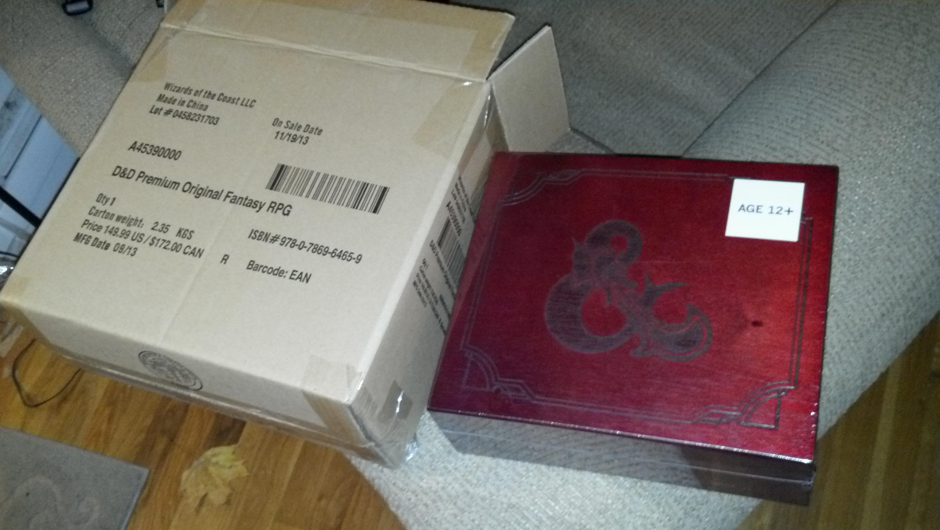 Original D&D White Book Box Set